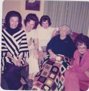 Millie,Dolly,Edith,Nana,Omie