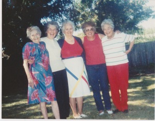 Edith,Dolly,Theresa,Omie,Ginny