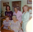 Millie, Ginnie, Theresa, Edie & Mom