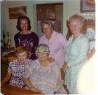 Millie, Ginnie, Theresa, Edie & Mom