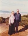 Theresa & Don at the coast