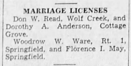 7-19-39 Woody marriage license